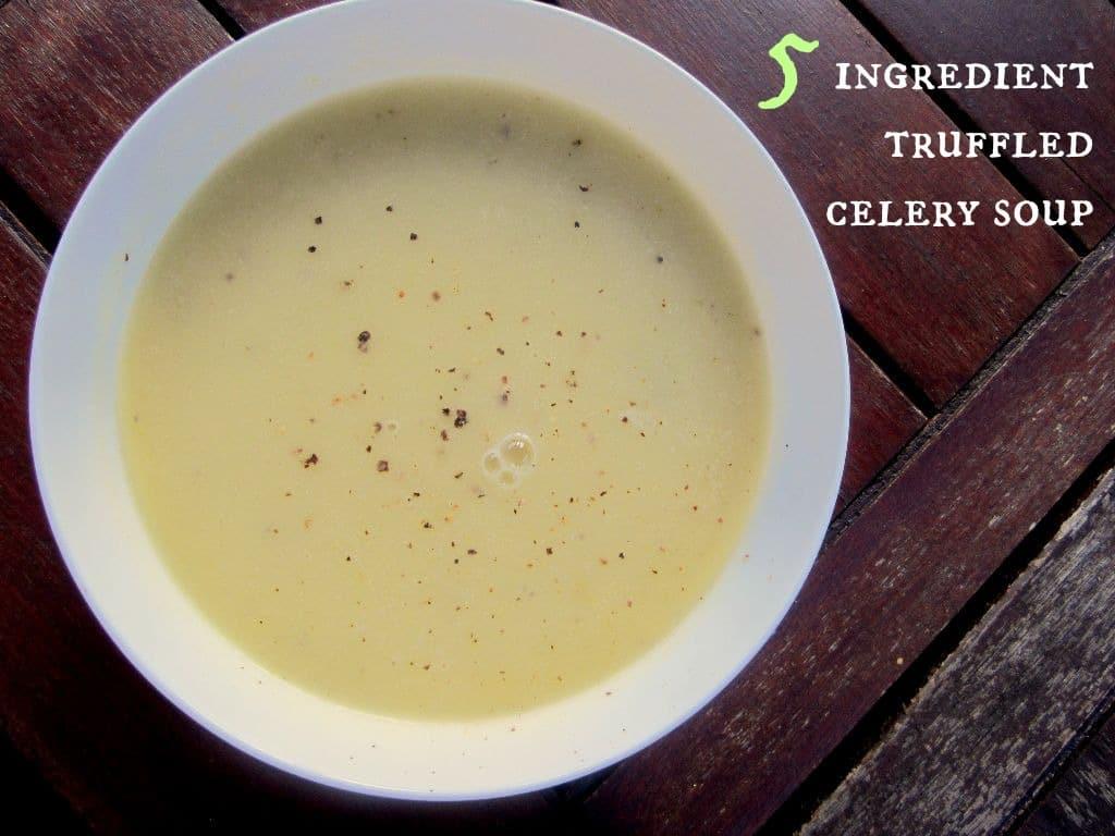 A quick, easy and surprisingly delicious soup! #vegan
