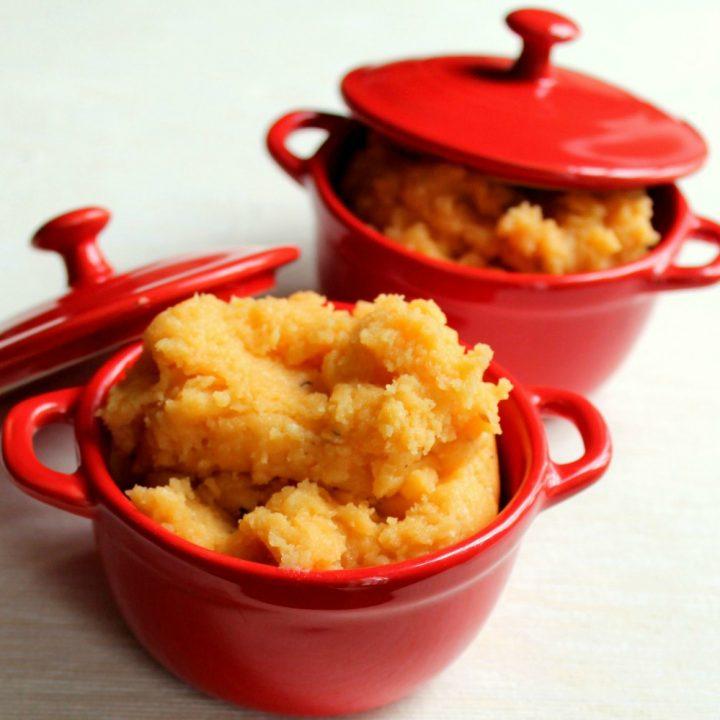 Smoked Paprika & Garlic Cheesy Mashed Potatoes