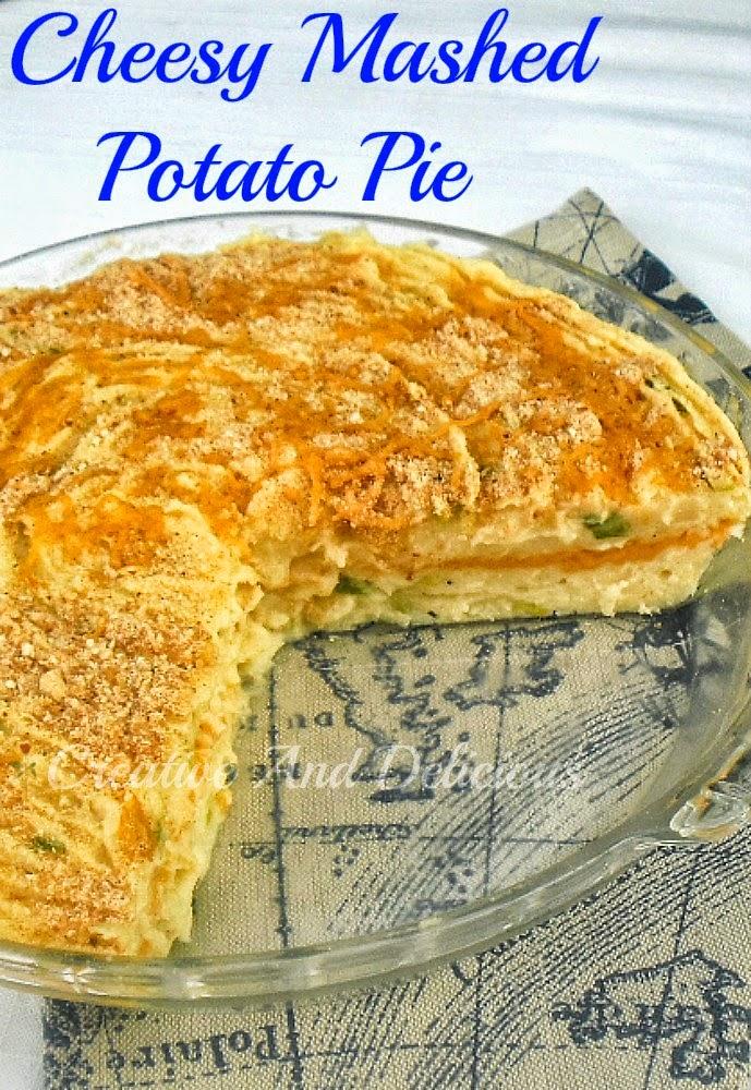 Cheesy Mashed Potato PieP