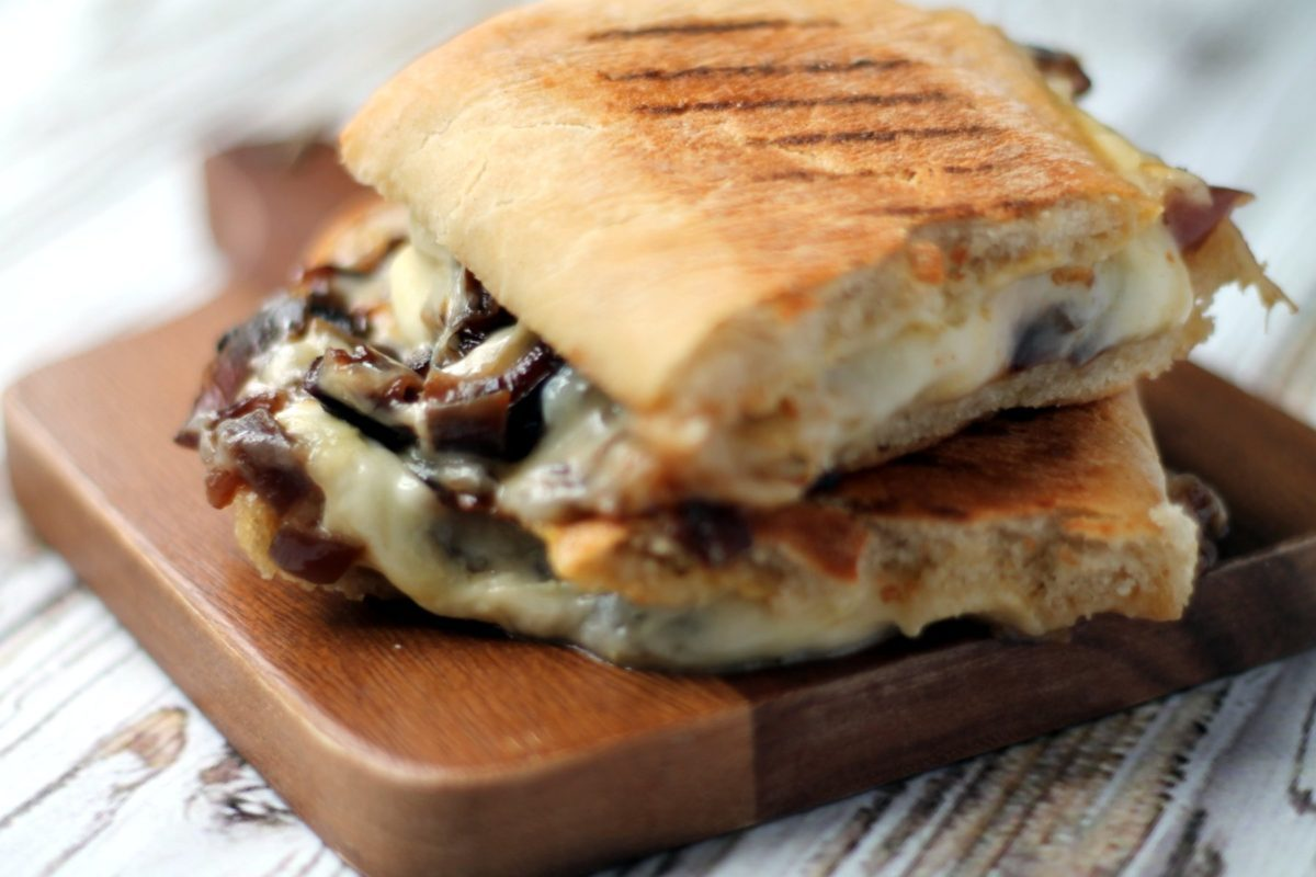 This is not your average cheese panini!