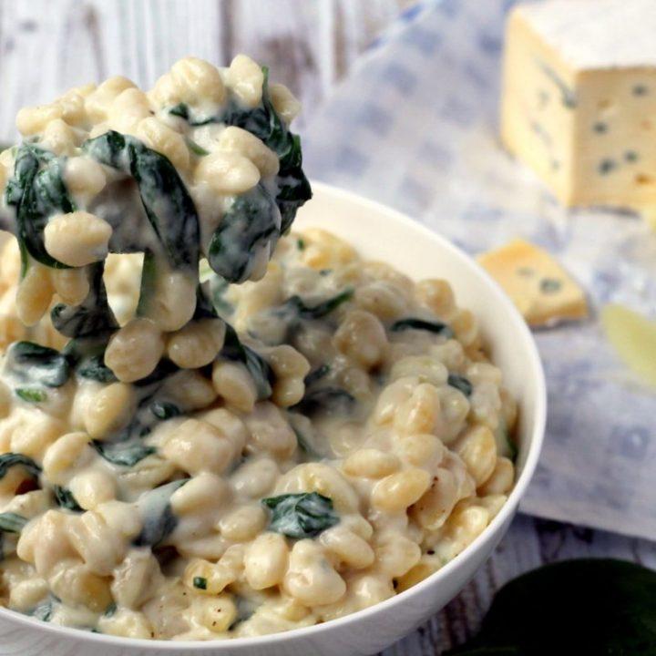 Blue Brie Macaroni & Cheese