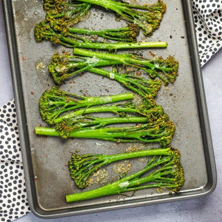 Roasted Tenderstem Broccoli with Stilton