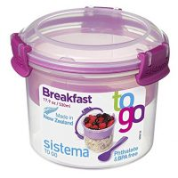 Sistema To Go Breakfast Bowl Food Storage Container