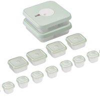 Joseph Joseph Datable Baby Food Container Set, 15-Piece