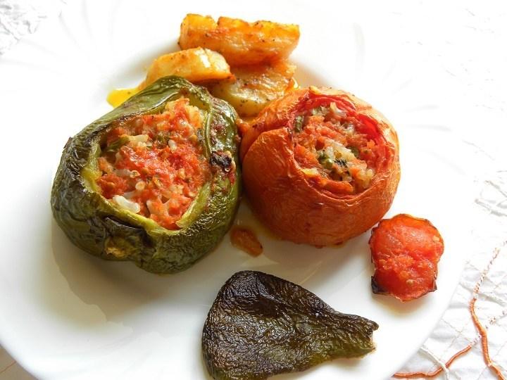 Gemista (Greek Stuffed Vegetables)