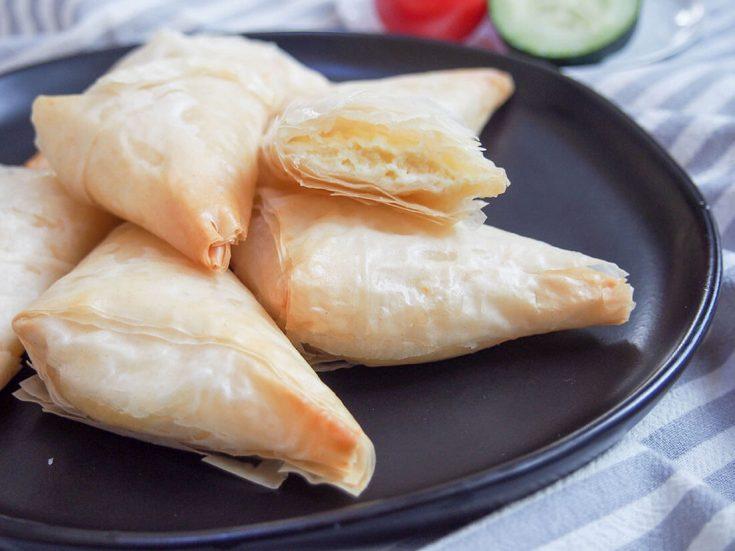 Tiropita (Greek cheese pastries)