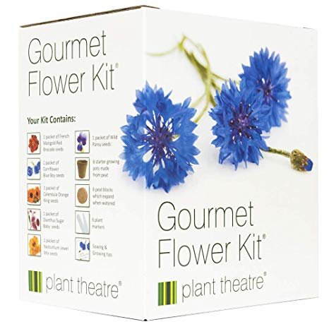Gourmet Edible Flower Kit